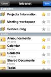 SharePlus Office Mobile Client screenshot 1/1