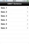 GMAT Sentence Correction Testbank screenshot 1/1