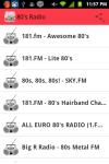80s Radio screenshot 1/4