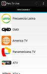 Peru Tv Live screenshot 1/5