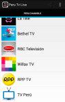 Peru Tv Live screenshot 3/5