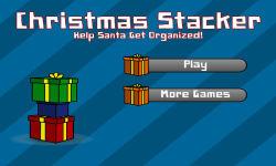 Christmas Stacker screenshot 1/3