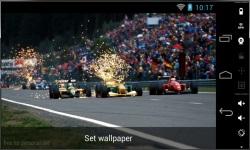 Beautiful Formula 1 Live Wallpaper screenshot 1/3