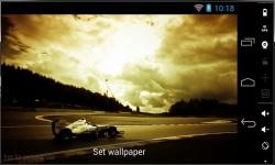 Beautiful Formula 1 Live Wallpaper screenshot 2/3