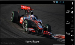 Beautiful Formula 1 Live Wallpaper screenshot 3/3
