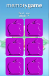 Fruits Memory Game for Android screenshot 2/6