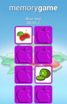 Fruits Memory Game for Android screenshot 3/6