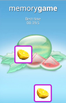 Fruits Memory Game for Android screenshot 4/6