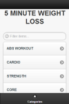 Lose Weight in 5 Minutes screenshot 1/6