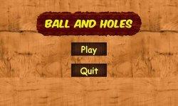 Ball and Holes screenshot 1/5