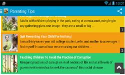 Parenting Tips and Tricks screenshot 3/3