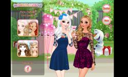 Make Up Anna and Elsa on Birthday screenshot 4/4
