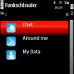 Funkschleuder Bluetooth Chat and Local Network screenshot 2/3