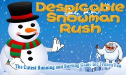 Despicable Snowman  Cutest Running Game Frozen Fan screenshot 1/2