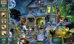 Free Hidden Object Games - Ghost House screenshot 3/4