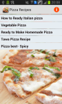 Pizza Recipes Cooking screenshot 1/3