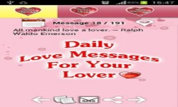 Love Diary Messages screenshot 3/6
