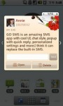 GOSMS Valentine's Day theme screenshot 6/6
