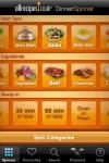 Allrecipes.co.uk Dinner Spinner  Recipes anytime! screenshot 1/1