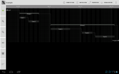 New Project Schedule Free screenshot 2/4