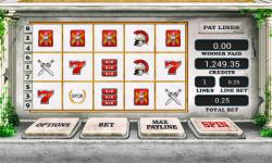Empire Rome Slot Machine Free screenshot 1/2