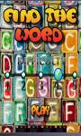 find the word kids games screenshot 1/3