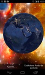 3D Earth from Space Live Wallpaper HD screenshot 1/4