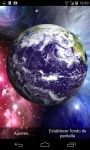 3D Earth from Space Live Wallpaper HD screenshot 2/4
