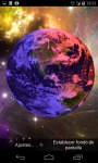 3D Earth from Space Live Wallpaper HD screenshot 3/4