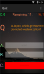 Japan History Knowledge test screenshot 4/6