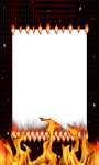 Fire photo frame images screenshot 2/4
