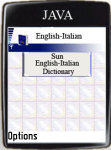 Sun English-Italian Dictionary screenshot 1/1