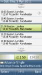 Trainline Tickets screenshot 1/1