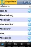 German <-> English Talking Dictionary Langenscheidt Basic screenshot 1/1