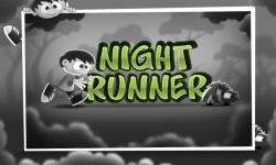 Night Runner Runner Game Free screenshot 1/5