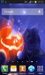 Halloween Kittens Live Wallpaper screenshot 2/5