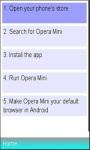 Operamini Guidline screenshot 1/1