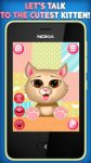 Chat with Kitten - Play with Fluffy Cat screenshot 1/3