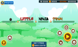 Little Ninja Revenge Game screenshot 1/6