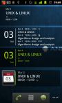 Simple Calendar Widget for Android screenshot 2/3