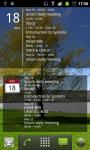 Simple Calendar Widget for Android screenshot 3/3