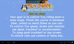 Tux Rider screenshot 2/5