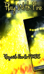 Play With Fire Finger Fun LWP Free screenshot 1/3