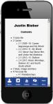 Justin Bieber Facts 2 screenshot 5/5