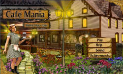 Free Hidden Objects Game - Cafe Mania screenshot 1/4