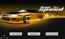 Fever for Speed screenshot 1/3