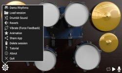 Drum Solo HD drumkit screenshot 2/3