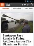 International Business Times Reader screenshot 1/4