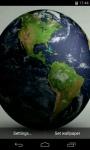 Earth Video Live Wallpaper screenshot 1/4