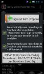 Crazy Voice Recorder screenshot 4/6